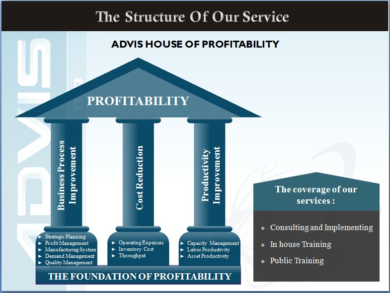 STRUCTURE OF OUR SERVICE